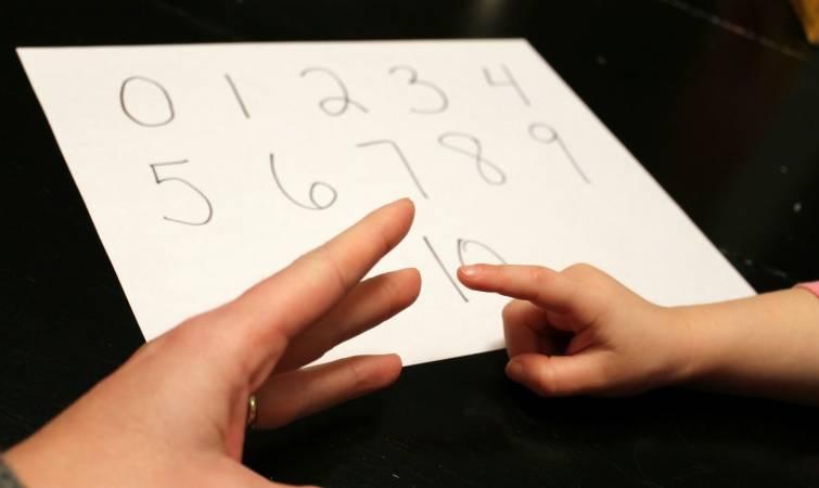 تعليم الاطفال الحروف والارقام