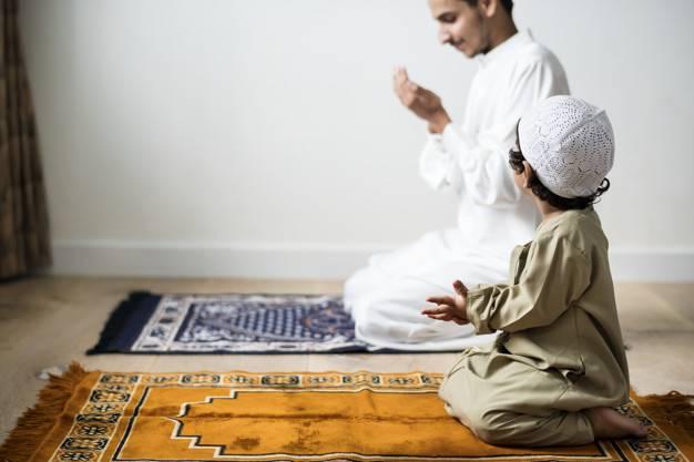 تعليم الأطفال الصلاة