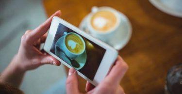طريقة تصوير سناب للقهوة