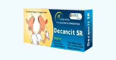 ديكانست إس أر Decancit SR لعلاج الأنفلونزا