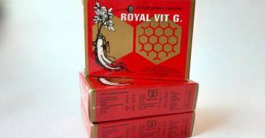 رويال فيت جي Royal Vit - G مكمل غذائي لتحسين الدورة الدموية