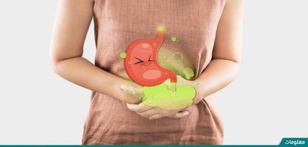 سبب الغازات في البطن وعلاجها
