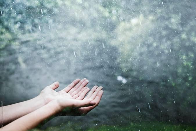 شعر بالانجليزي عن المطر