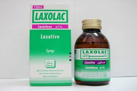 لاكسولاك Laxolac شراب لعلاج الإمساك