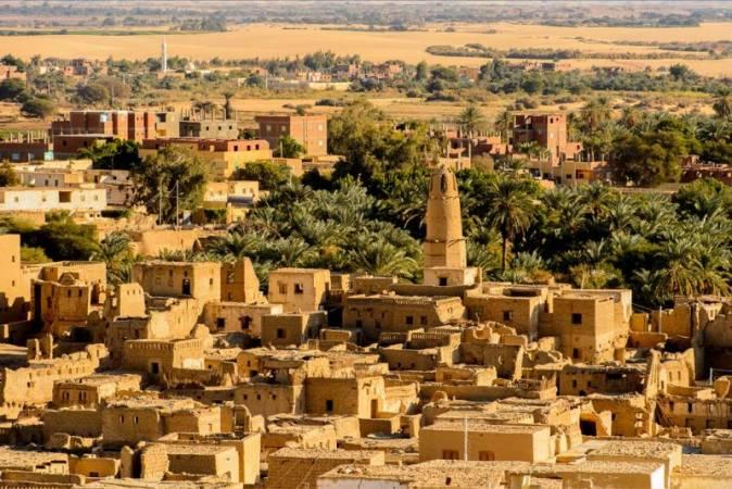 معلومات عن واحة الداخلة في مصر