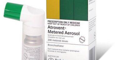 أتروفنت أن Atrovent n علاج ضيق التنفس