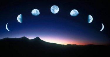 سبب حدوث اطوار القمر