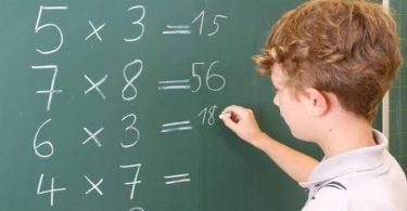 طريقة حفظ جدول الضرب للأطفال