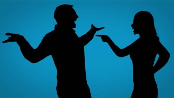 غضب الزوجة على زوجها