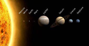 كم كوكب في النظام الشمسي