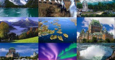 مناظر طبيعية في العالم