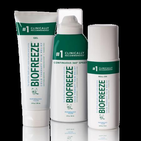 بيوفريز جل Biofreeze Gel لعلاج التهاب المفاصل ومسكن للآلام