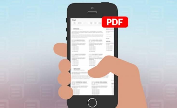 طريقة عمل PDF بالجوال
