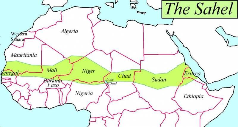 مفهوم دول الساحل الأفريقي