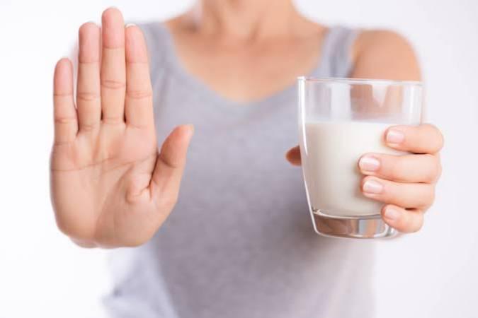 صورة حساسية الحليب عند الكبار وأعراضها